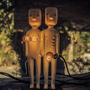two sexy robots