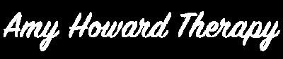 Amy Howard Therapy Logo